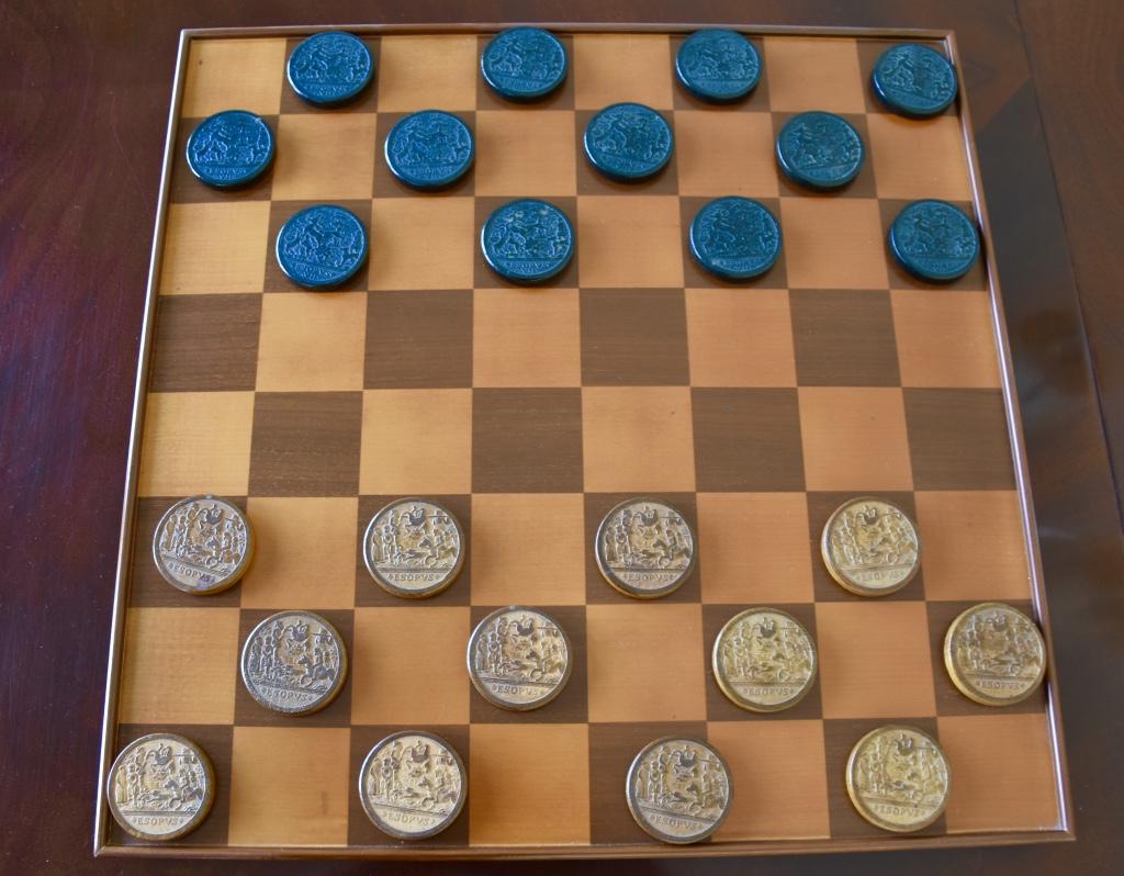 williamsburg checkerboard