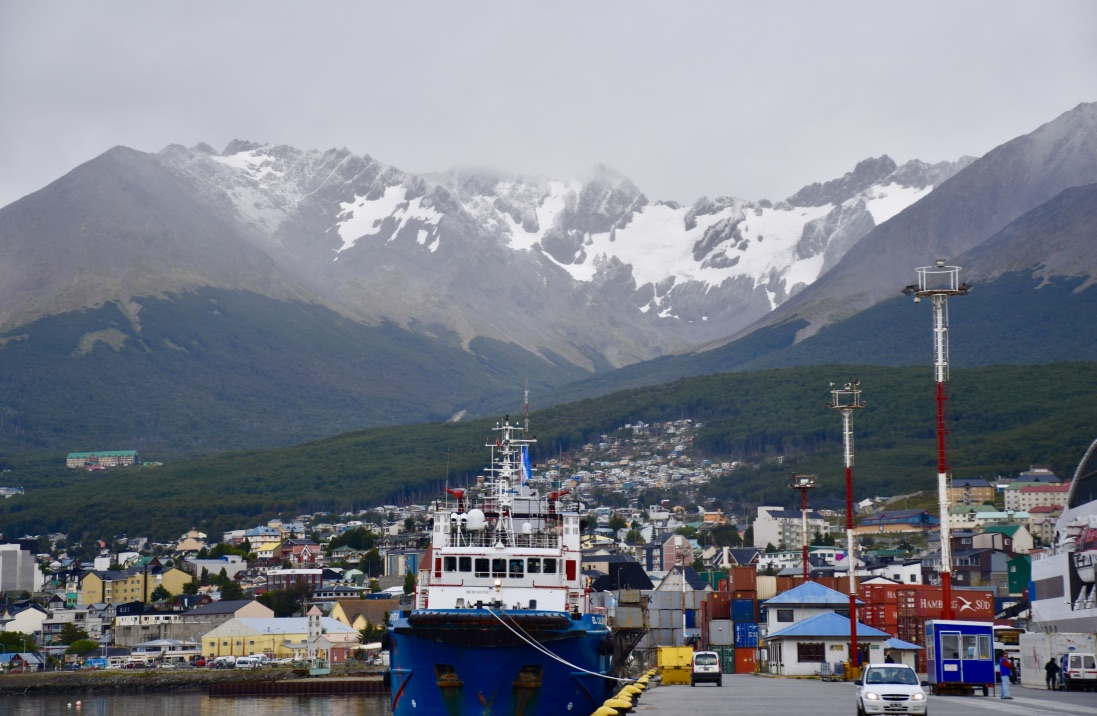 Port of Ushuaia, Argentina.