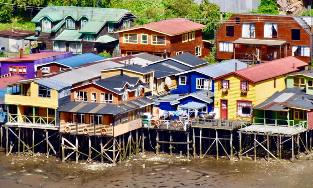Castro, Chile: Colorful World on Isla Chiloé