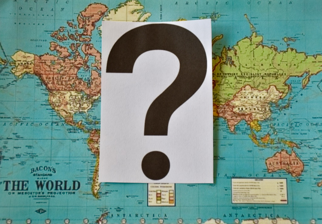 The Modern Postcard Travel Blog Notes From Home Ideas For Figuring - Where have you been travel map