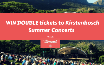 *WIN tickets to an Epic Kirstenbosch Summer Concert with Vibescout!!