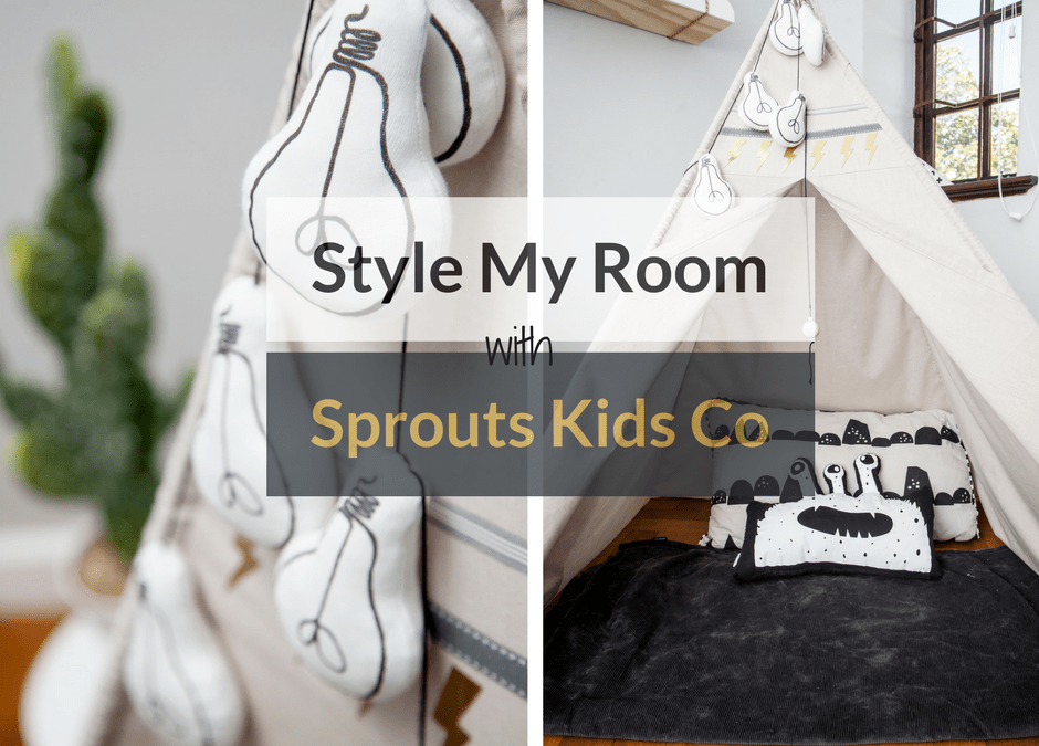 Style My Room With Sprouts Kids Co + WIN Their Lightbulb Garland!
