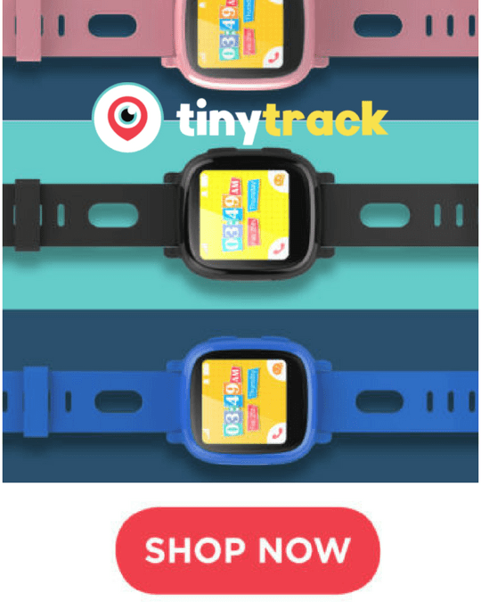 Tiny Track Watches Offer Parents Peace Of Mind And Here's Why.