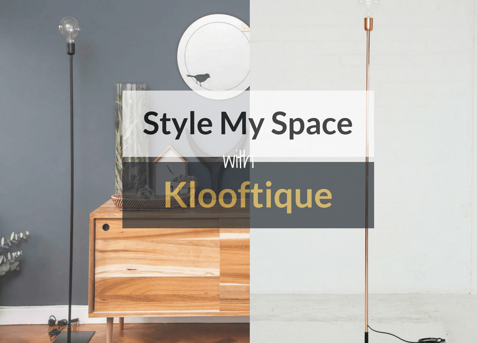 Style My Space With Klooftique PLUS *Win Their Straight-Up Floor Lamp!