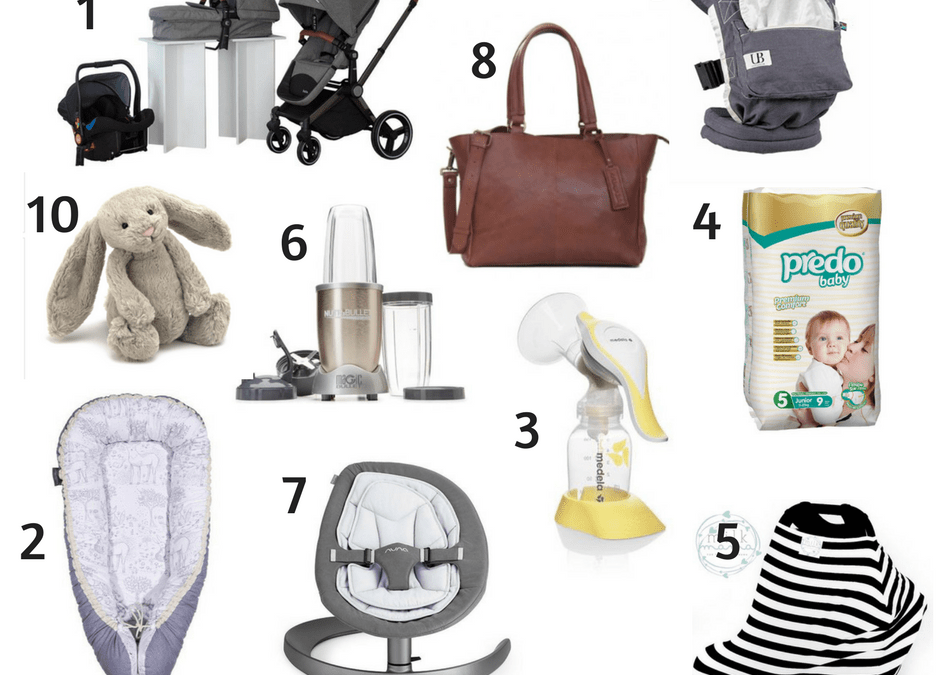 My Top 10 Baby Products Made To Make A Mom's Life More Manageable!
