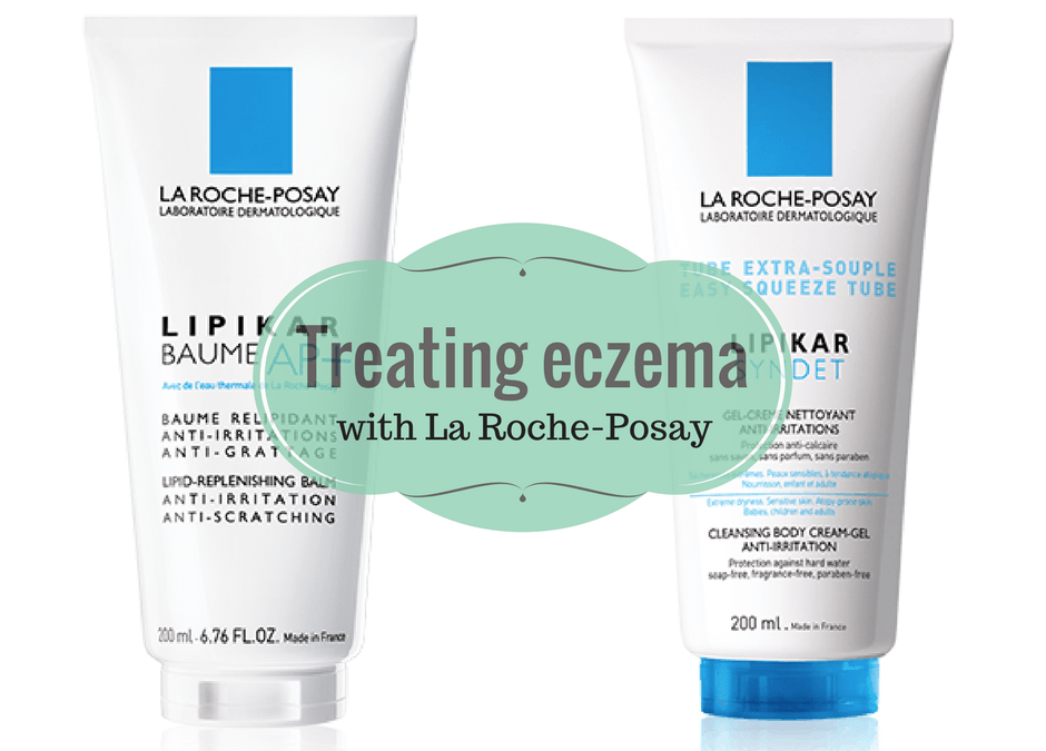 Treating Eczema With La Roche-Posay Lipikar Syndet and BAUME AP+