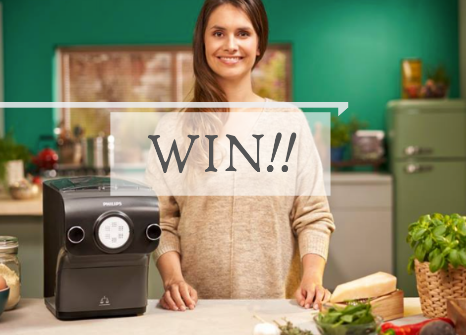 Living My Pasta Dream PLUS *WIN* a Philips Pasta Maker {Value R3999}