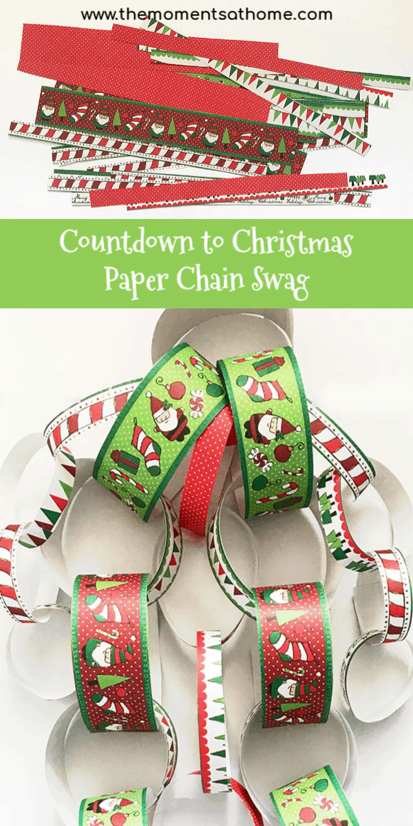 countdown to christmas paper