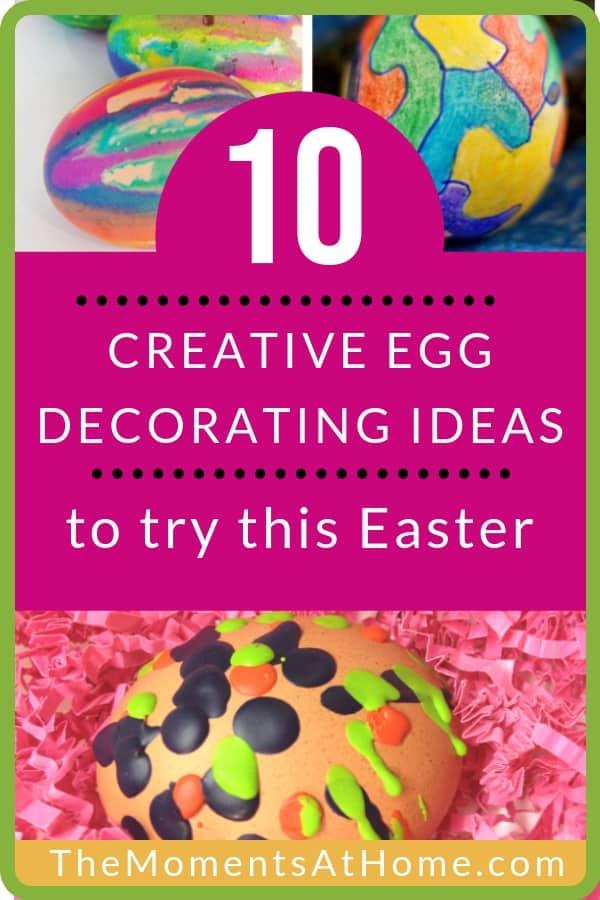creative egg decorating ideas