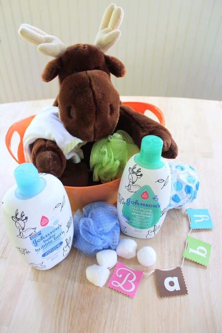 how to create a baby basket