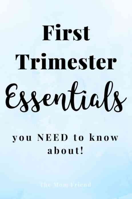 Must Haves for pregnancy and first trimester essentials. #pregnancy #firsttrimester