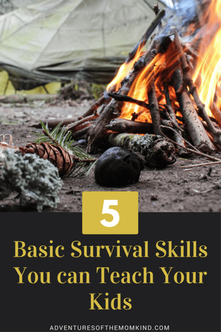 5 Basic Military Survival Skills to teach your children
