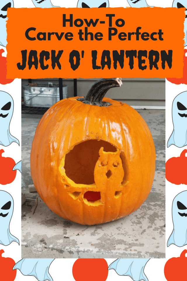How to Carve The Perfect Jackolantern - Have you ever wondered how people carve those crazy cool jack o'lanterns? It is so much easier than you might think!
