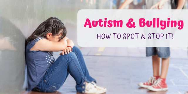 Children with autism spectrum disorders are bullied far more often than their neurotypical peers. Learn how to spot & stop bullying of your autsitic child