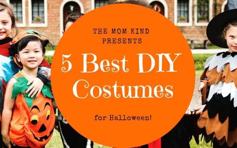 5 Best DIY Costumes for Your Kid
