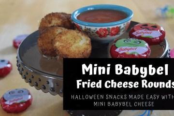 Mini BabyBel Fried Cheese Rounds Recipe