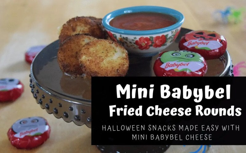 Mini BabyBel Fried Cheese Rounds Recipe