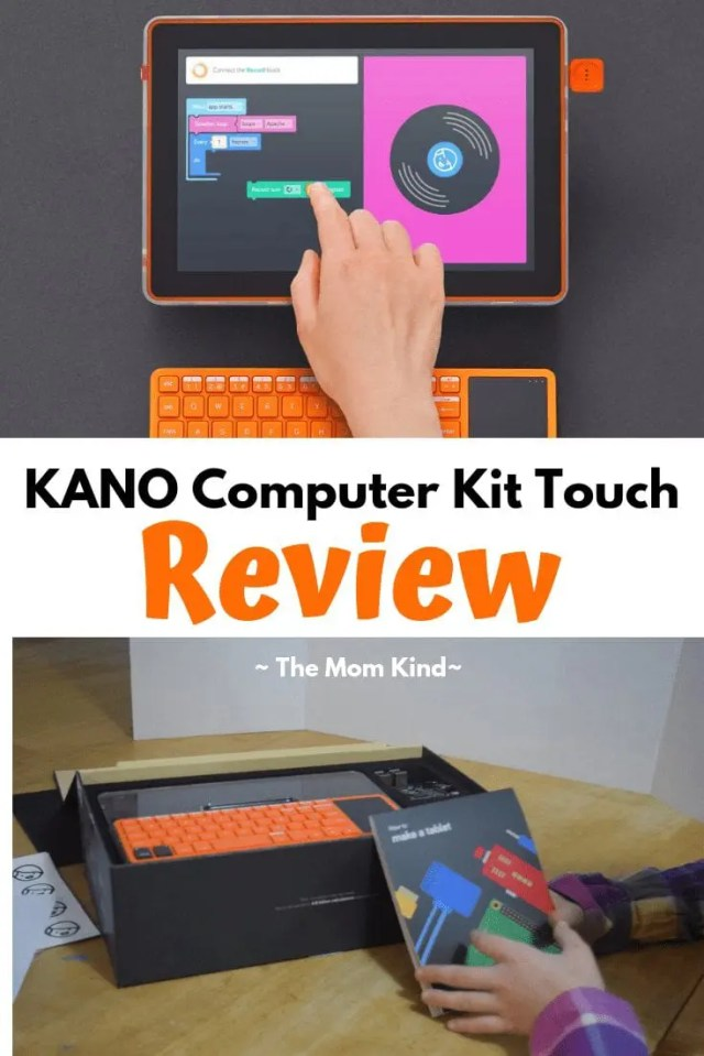 Is kano worth it? Check out this kano computer kit touch review to find out! #coding #kano #productreview