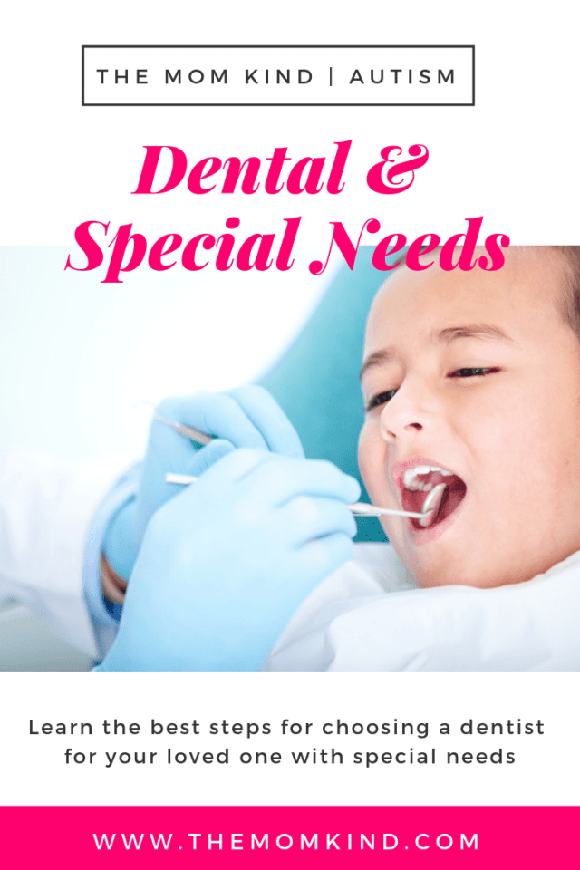 Going to the dentist is tough, especially for those with special needs.  Find out what questions to ask to find the perfect dentist for your loved one with special needs such as autism, anxiety, down syndrome, and more
