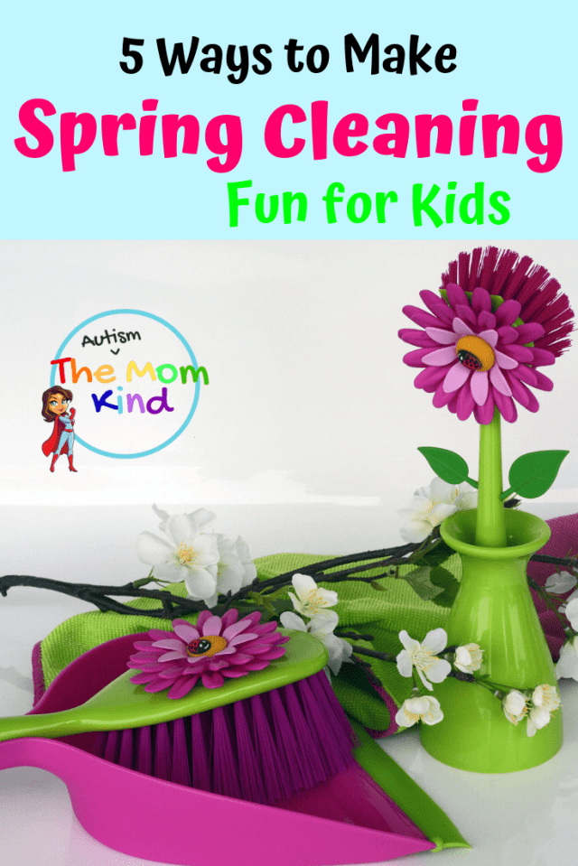 Why not combine spring cleaning and time with the fam? Hear me out: This doesn't have to be a marathon torture-fest of scrubbing toilets and clearing out the fridge, cleaning can be fun! Yes, it's true. You and your kids can make cleaning seem like playtime ... almost.   Check out these 5 Great ways to Make Spring Cleaning Fun for Kids!