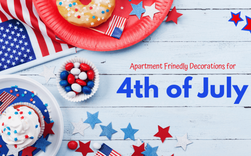 How to Decorate Your Apartment for the Fourth of July with Your Kids