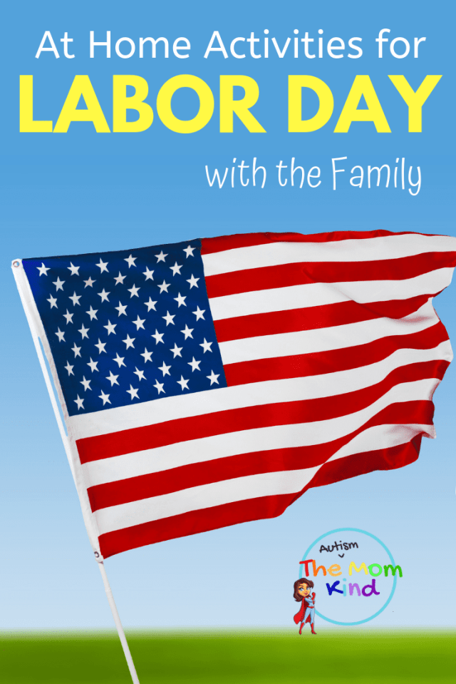 #LaborDay weekend is the perfect time to gather with your kids and have a blast before autumnal activities begin to take over the schedule.  Check out these great at-home activities for your family over Labor Day Weekend