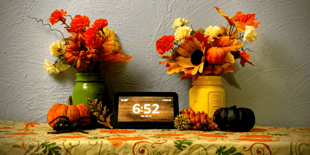 """Getting ready for Halloween has never been easier than with Amazon Alexa.  """"Alexa, Let's Get Scary"""" enables some amazing Halloween Skills! @"""