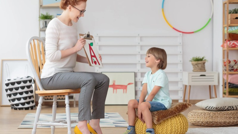 Sometimes, it is hard to know how to tell if your child needs speech therapy.  Learn how to determine if your child may have a speech delay.
