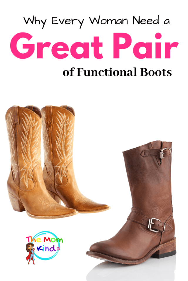 All Women Need a Great Pair of Functional Boots, functioning at their very best all day long, and this is especially true for moms! #fashion #womensfashion #boots #shoppingtips