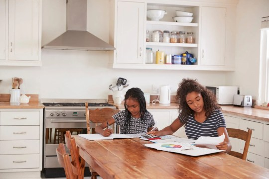 Are you a mom getting ready to try homeschooling? you better get set up for success. Check out these tips for setting up your homeschool spaced #parentingtips #covid19 #homeschool