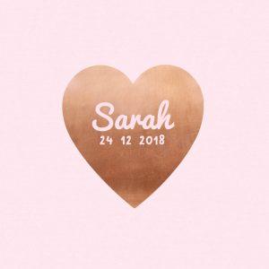 geboortekaartje-koper-hart-roze