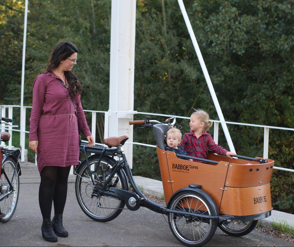 fietsen met een bakfiets