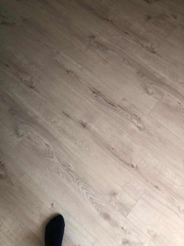 Foto van de vloer.