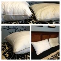 Fieldcrest Luxury Down Alternative Pillow filled with ...