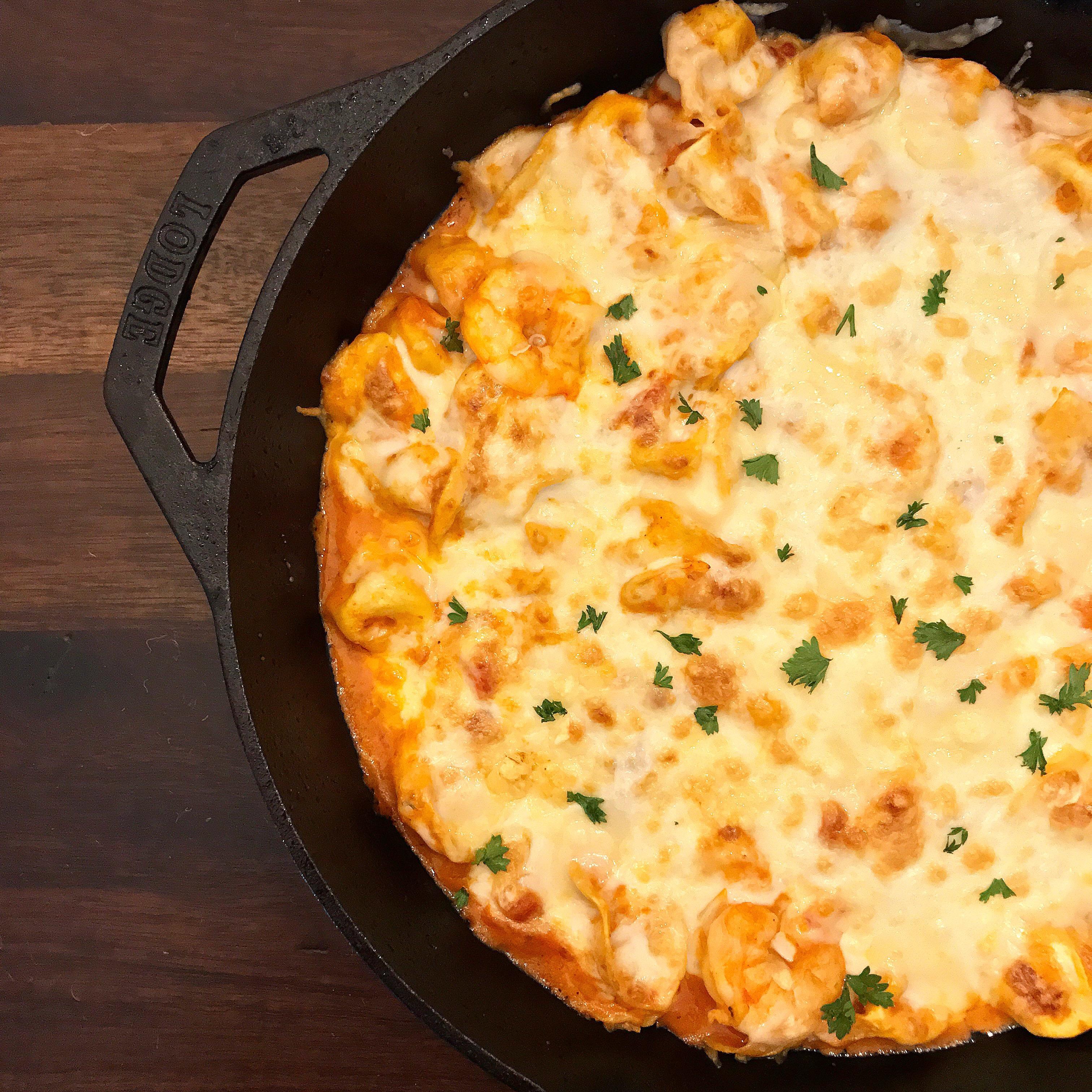 Simple Shrimpy Tortellini