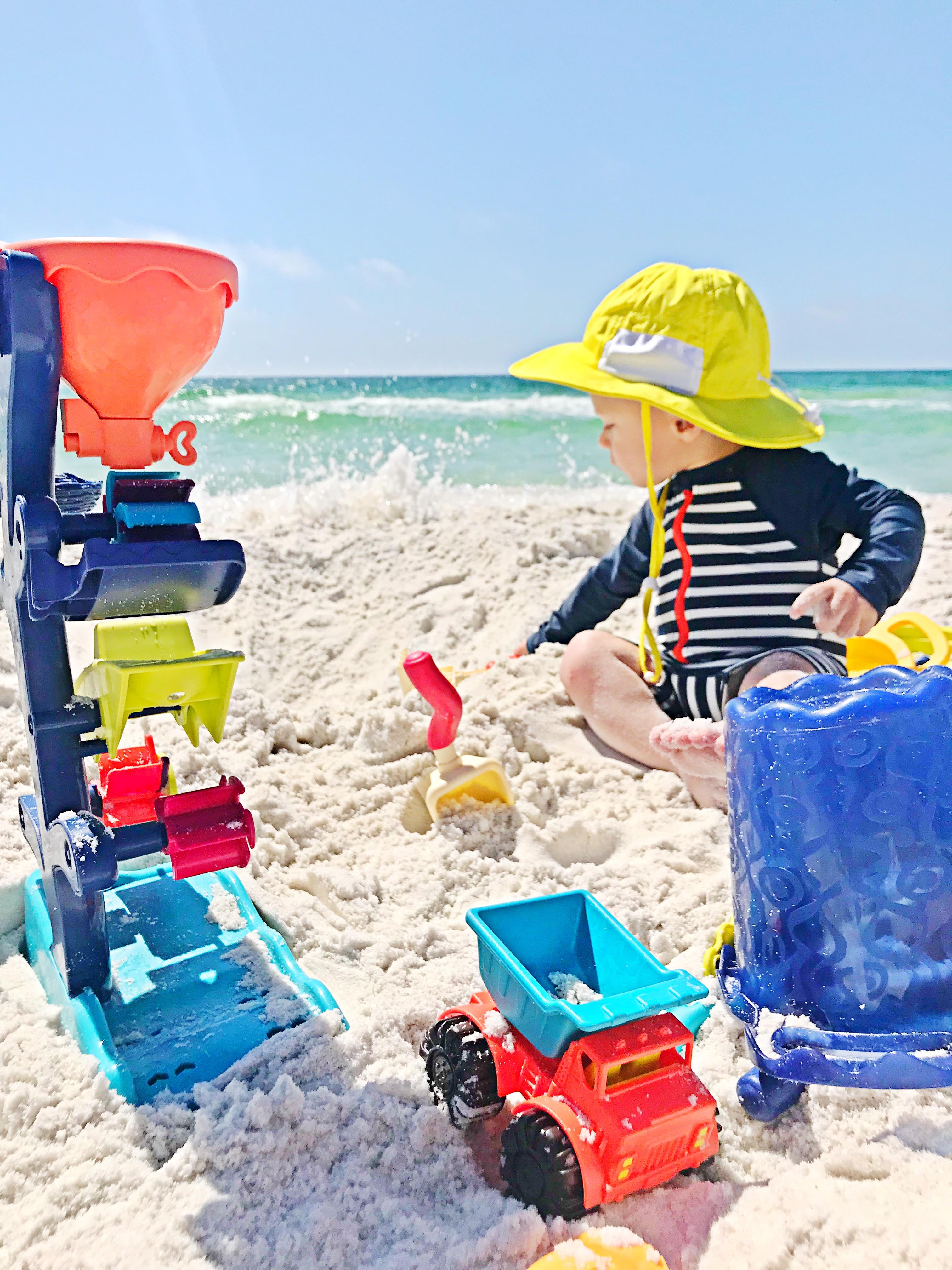 Toddler Beach + Pool Essentials