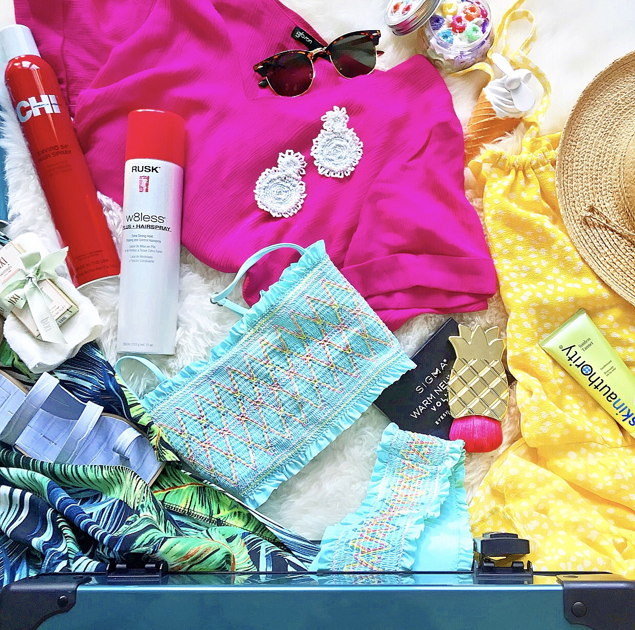 Tropical Travel Packing List