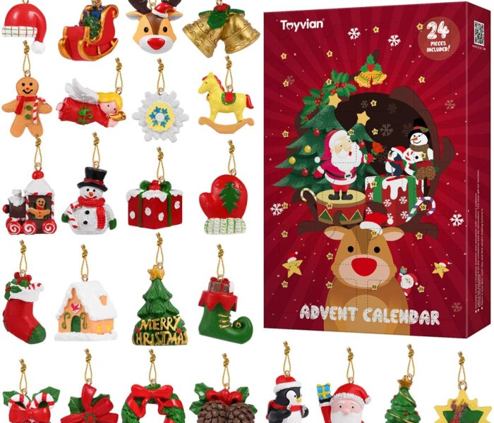 20 FUN Advent Calendars for Kids