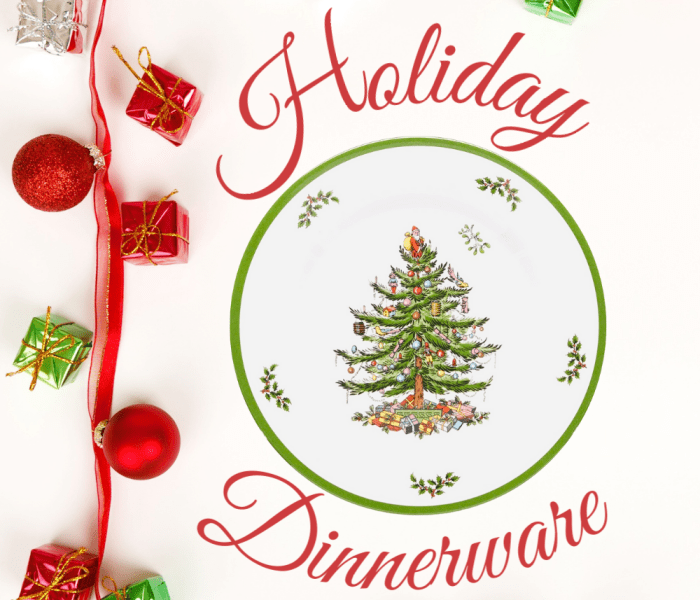Trending Holiday Dinnerware- 2020