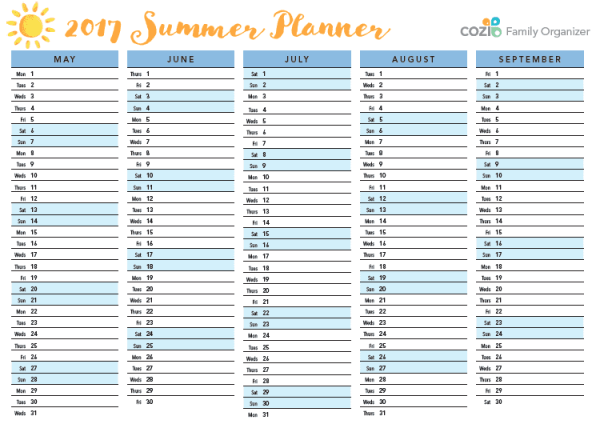 Stress-Free Vacation Planning Cozi Download