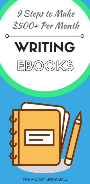 Make money writing ebooks