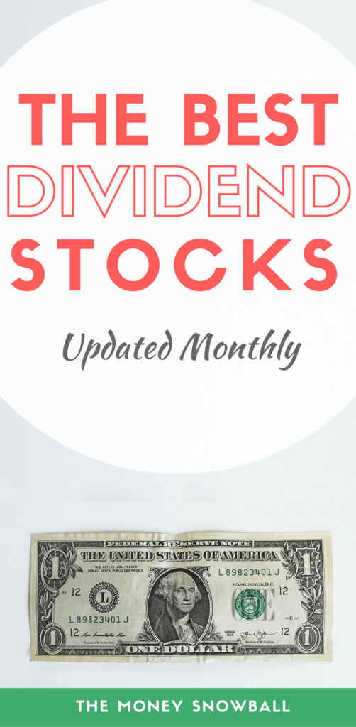 The Best Dividend Stocks