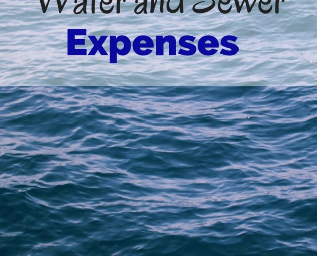 water expenses