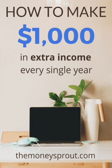 How to Make an Extra $1,000 in Income Every Year