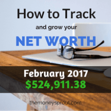 February 2017 Net Worth Results