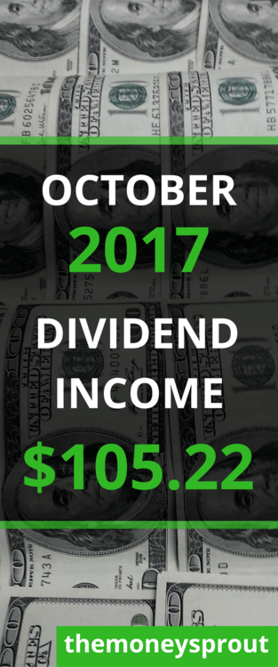 How We Earned $105.22 in Dividend Income in November 2017
