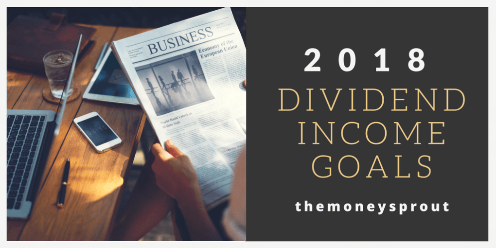 2018 Dividend Income Goals