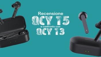 Recensione QCY T5 e QCY T3 - La migliore alternativa alle Airpods