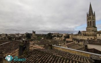 Panorama sul borgo di Saint Emiliòn