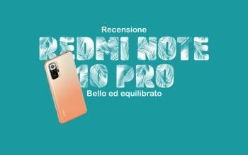 Redmi Note 10 Pro Recensione